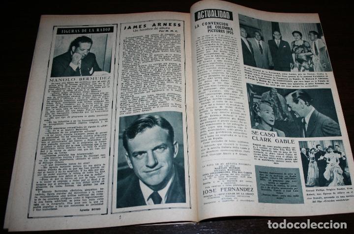 Cine: RADIOCINEMA Nº 260 - 16-VII-1955 - PORTADA: BARBARA RUSH - CONTRA: PETER LAWFORD - Foto 3 - 84669576