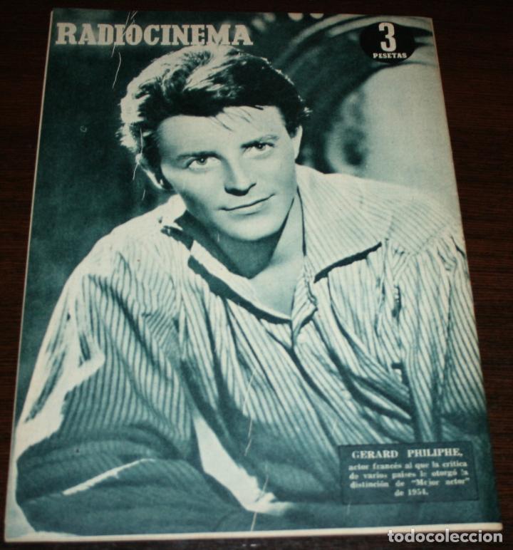 Cine: RADIOCINEMA Nº 238 - 12-II-1955 - PORTADA: NICOLE MAUREY - CONTRA: GERARD PHILIPHE - Foto 2 - 161542396