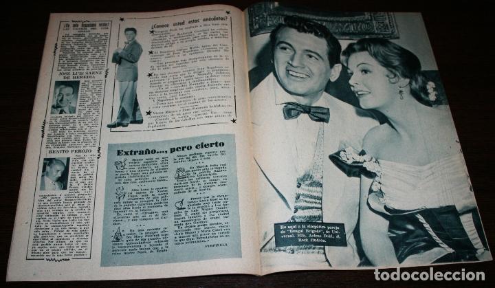 Cine: RADIOCINEMA Nº 238 - 12-II-1955 - PORTADA: NICOLE MAUREY - CONTRA: GERARD PHILIPHE - Foto 3 - 161542396