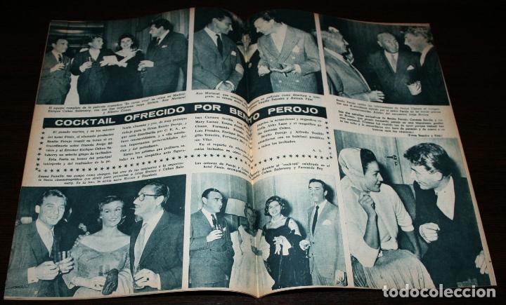 Cine: RADIOCINEMA Nº 324 - 6-X-1956 - PORTADA: MALILA - CONTRA: GEORGE NADER, DANIS CROYNE - Foto 3 - 84684260