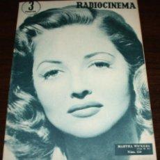 Cine: RADIOCINEMA Nº 250 - 7-V-1955 - PORTADA: MARTHA VICKERS - CONTRA: RICHARD HART. Lote 84684388