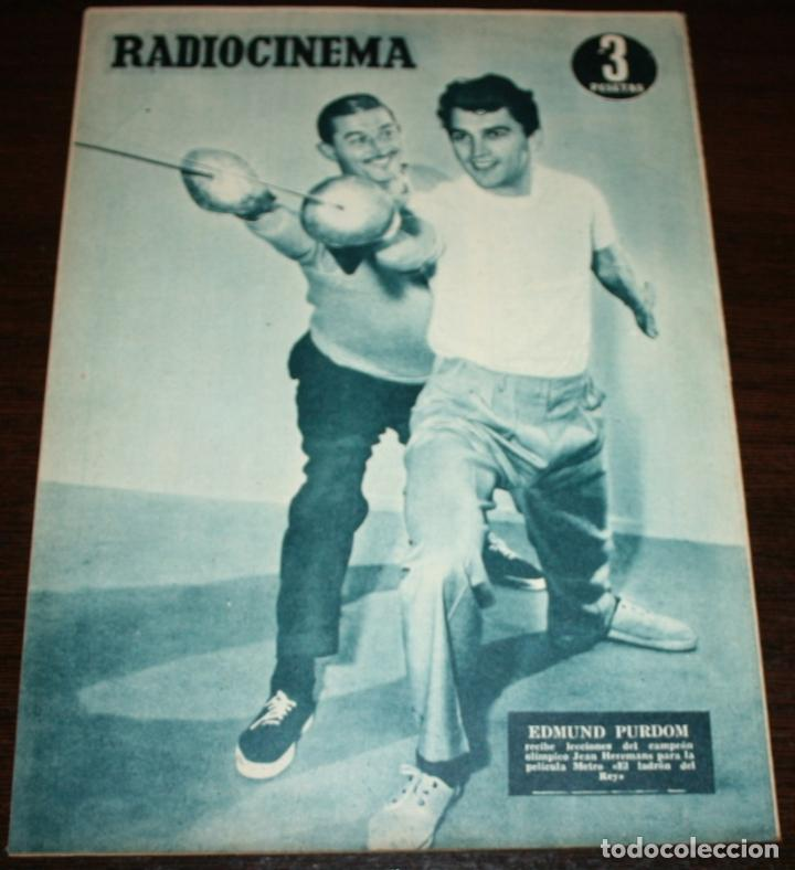 Cine: RADIOCINEMA Nº 248 - 23-IV-1955 - PORTADA: BING CROSBY, DANNY KAYE... - CONTRA: EDMUND PURDOM - Foto 2 - 84684760