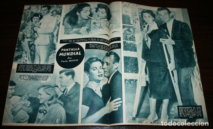 Cine: RADIOCINEMA Nº 248 - 23-IV-1955 - PORTADA: BING CROSBY, DANNY KAYE... - CONTRA: EDMUND PURDOM - Foto 3 - 84684760