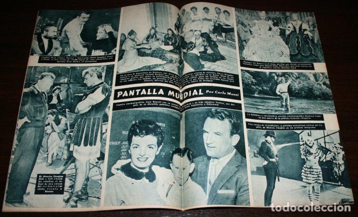 Cine: RADIOCINEMA Nº 247 - 16-IV-1955 - PORTADA: LARAINE DAY - CONTRA: JACK CARSON - Foto 3 - 84684932
