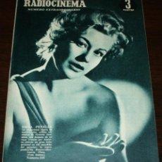 Cine: RADIOCINEMA Nº 246 - 9-IV-1955 - PORTADA: EMMA PENELLA - CONTRA: ISSA PEREIRA. Lote 84685144