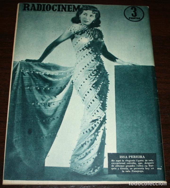 Cine: RADIOCINEMA Nº 246 - 9-IV-1955 - PORTADA: EMMA PENELLA - CONTRA: ISSA PEREIRA - Foto 2 - 84685144