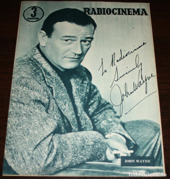 Cine: RADIOCINEMA Nº 245 - 2-IV-1955 - PORTADA: MYRNA HANSEN - CONTRA: JOHN WAYNE - Foto 2 - 84685316