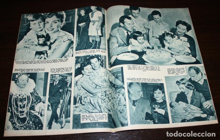 Cine: RADIOCINEMA Nº 245 - 2-IV-1955 - PORTADA: MYRNA HANSEN - CONTRA: JOHN WAYNE - Foto 3 - 84685316