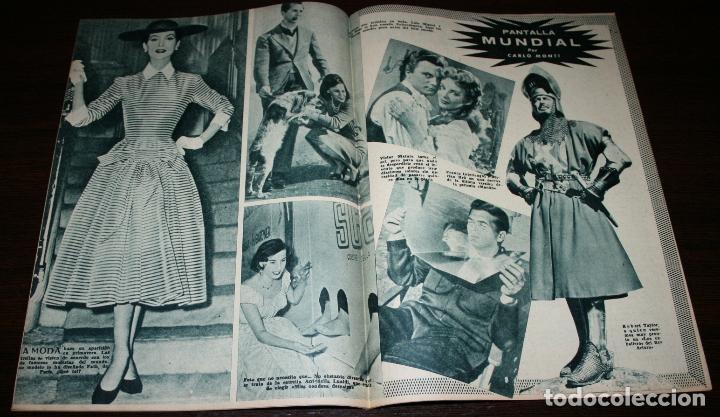 Cine: RADIOCINEMA Nº 241 - 5-III-1955 - PORTADA: PAQUITA RICO - CONTRA: DENNIS MORGAN - Foto 3 - 84686020
