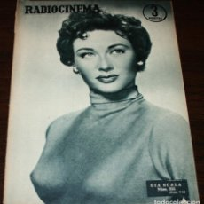 Cine: RADIOCINEMA Nº 255 - 11-VI-1955 - PORTADA: GIA SCALA - CONTRA: CHARLTON HESTON. Lote 84686772
