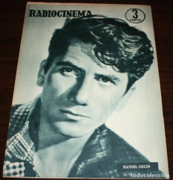 Cine: RADIOCINEMA Nº 254 - 4-VI-1955 - PORTADA: BRIGITTE AUBER - CONTRA: DANIEL GELIN - Foto 2 - 84686916