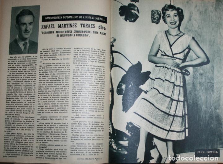 Cine: RADIOCINEMA Nº 258 - 2-VI-1955 - PORTADA: GLORIA GRAHAME - CONTRA: LANA TURNER, LEX BARKER - Foto 2 - 84687928