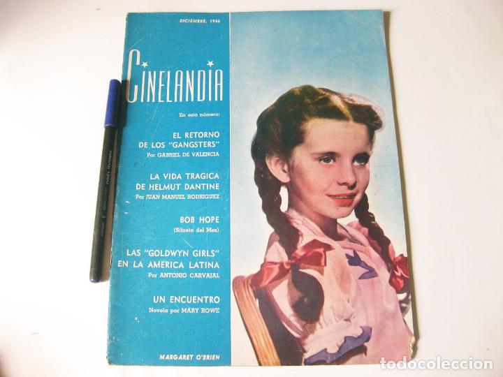 REVISTA CE CINE CINELANDIA - TOMO XX NÚMERO 12 DE DICIEMBRE DE 1946 (Cine - Revistas - Cinelandia)