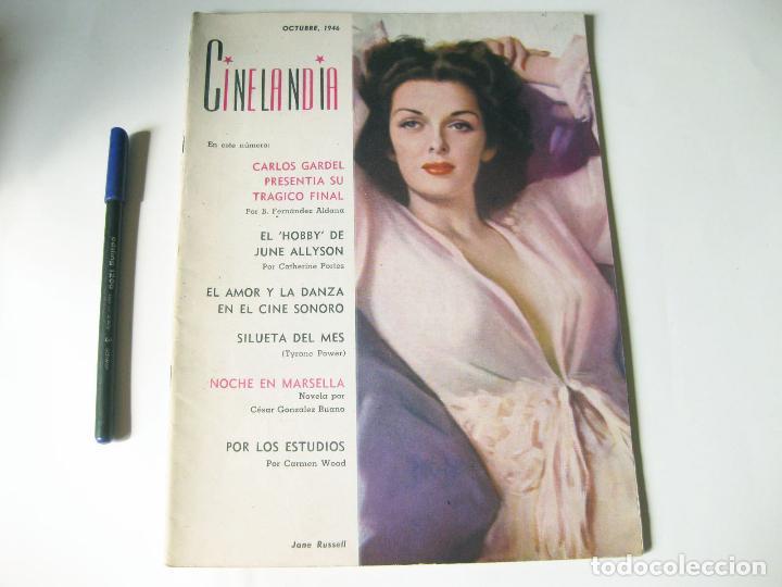 REVISTA DE CINE CINELANDIA DE DICIEMBRE - TOMO XX NÚMERO 10 DE OCTUBRE DE 1946 (Cine - Revistas - Cinelandia)