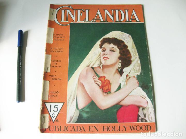 REVISTA DE CINE CINELANDIA - TOMO IX NÚMERO 7 DE JULIO DE 1935 (Cine - Revistas - Cinelandia)