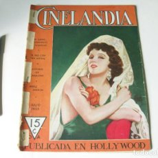 Cine: REVISTA DE CINE CINELANDIA - TOMO IX NÚMERO 7 DE JULIO DE 1935. Lote 84893228
