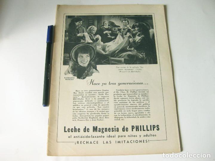 REVISTA DE CINE CINELANDIA - TOMO VIII NÚMERO 4 DE ABRIL DE 1934 (Cine - Revistas - Cinelandia)