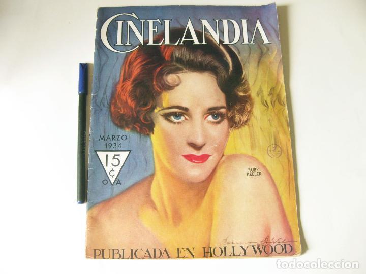 REVISTA DE CINE CINELANDIA - TOMO VIII NÚMERO 3 DE MARZO DE 1934 (Cine - Revistas - Cinelandia)