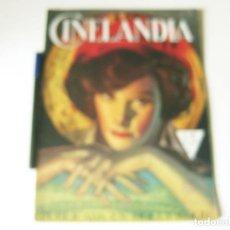 Cine: REVISTA DE CINE CINELANDIA - TOMO VIII NÚMERO 2 DE FEBRERO DE 1934. Lote 84893636