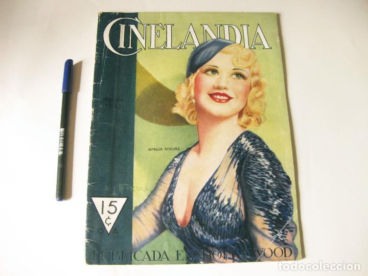 REVISTA DE CINE CINELANDIA - TOMO VII NÚMERO 8 DE AGOSTO DE 1933 (Cine - Revistas - Cinelandia)