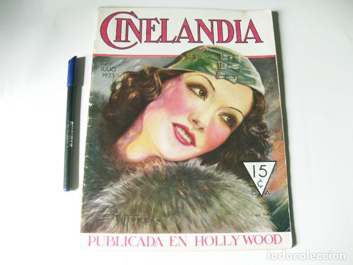 REVISTA DE CINE CINELANDIA - TOMO VII NÚMERO 7 DE JULIO DE 1933 (Cine - Revistas - Cinelandia)