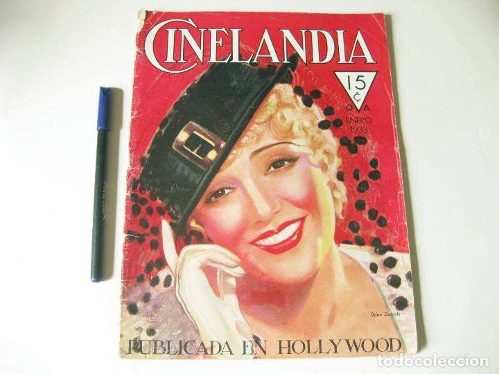REVISTA DE CINE CINELANDIA - TOMO VII NÚMERO 1 DE ENERO DE 1933 (Cine - Revistas - Cinelandia)