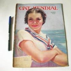 Cine: REVISTA DE CINE - CINE MUNDIAL - VOLUMEN XX NÚMERO 8 DE AGOSTO DE 1935. Lote 84894920
