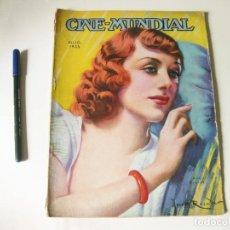 Cine: REVISTA DE CINE - CINE MUNDIAL - VOLUMEN XX NÚMERO 7 DE JULIO DE 1935. Lote 84894988