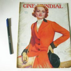 Cine: REVISTA DE CINE - CINE MUNDIAL - VOLUMEN XX NÚMERO 4 DE ABRIL DE 1935. Lote 84895068