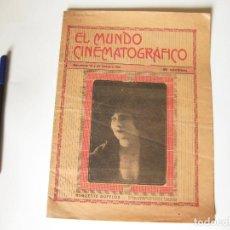 Cine: REVISTA DE CINE EL MUNDO CINEMATOGRÁFICO. AÑO X NÚMERO 225 Y 226 DE 10 Y 25 DE OCTUBRE DE 1921. BARC. Lote 84896368