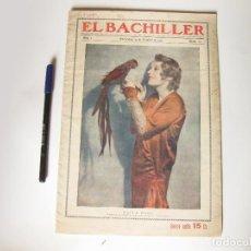 Cine: REVISTA DE CINE EL BACHILLER. AÑO 1 NÚMERO 13. BARCELONA 31 DE OCTUBRE DE 1929. Lote 84896656