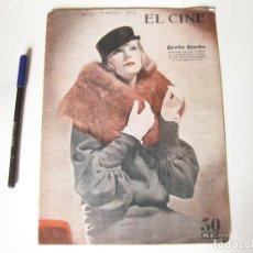 Cine: REVISTA DE CINE EL CINE . AÑO XXIII NÚMERO 10. BARCELONA, MARZO DE 1933. Lote 84896940