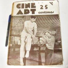 Cine: REVISTA SEMANAL DE INFORMACION CINEMATOGRÁFICA CINE ART, AÑO II NÚMERO 30 DE 1934. Lote 84897436