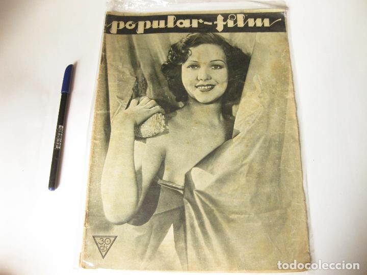 REVISTA DE CINE POPULAR FILM. AÑO VIII, NÚMERO 367 DE AGOSTO DE 1933 (Cine - Revistas - Popular film)
