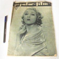 Cine: REVISTA DE CINE POPULAR FILM. AÑO VIII, NÚMERO 353 DE MAYO DE 1933. Lote 84898368