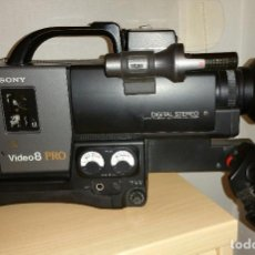 Cine: VIDEO CÁMARA SONY RECORDER - CCD-V200E VIDEO 8 PRO. Lote 85108546