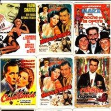 Cine: 10 CALENDARIOS DE CARTELES CINE Y 1 DE INGRID BERGMAN.. Lote 85209568