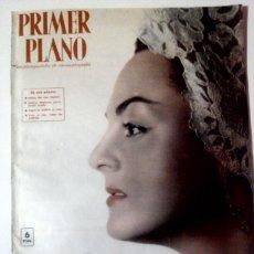 Cine: PRIMER PLANO N°956 FEBRERO/1958 • FINA GALICIA•SARA MONTIEL,AUDREY HEPBURN,CON MUCHOS CARTELES•. Lote 85307638