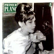 Cine: PRIMER PLANO N°1094 OCT/1961 • LESLIE CARON• SARA MONTIEL,FRANCO,SEAN FLYNN,JACQUELINE SASSAR•. Lote 85308379