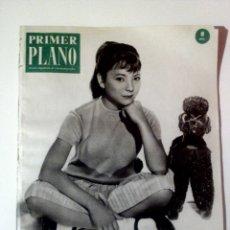 Cine: PRIMER PLANO N°1100 SEP/1961 • PORTADA ESTRELLITA• FICHA SARA MONTIEL,MARLON BRANDO,SOFIA LOREN •. Lote 85310040