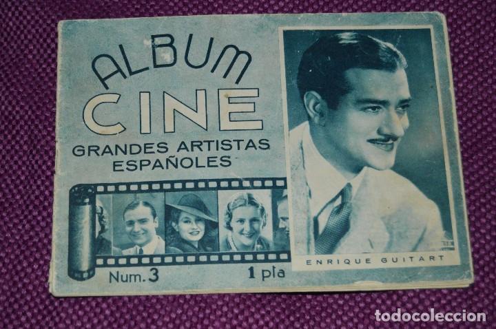 ANTIGUO EJEMPLAR - Nº 3 - ALBUM CINE - GRANDES ARTISTAS ESPAÑOLES - ¡HAZ OFERTA! (Cine - Revistas - Otros)