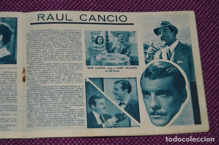 Cine: ANTIGUO EJEMPLAR - Nº 3 - ALBUM CINE - GRANDES ARTISTAS ESPAÑOLES - ¡HAZ OFERTA! - Foto 5 - 85434020