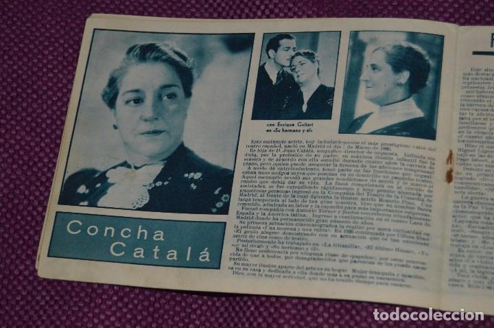 Cine: ANTIGUO EJEMPLAR - Nº 3 - ALBUM CINE - GRANDES ARTISTAS ESPAÑOLES - ¡HAZ OFERTA! - Foto 6 - 85434020