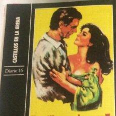 Cine: 'CASTILLOS EN LA ARENA', CON RICHARD BURTON Y LIZ TAYLOR. FICHA COLECCIONABLE DE REVISTA DIARIO 16.. Lote 85900644