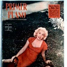 Cine: PRIMER PLANO N°929 AGO/1958 •MARIA MARTIN-WALTER CHIARI•SARA MONTIEL•JACQUELINE SASSAR•BRIGITTE BARD. Lote 86071631