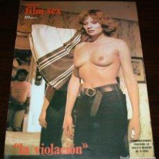 Cine: NUEVO FILM SEX Nº8 - LA VIOLACIÓN - 1977. Lote 86333476