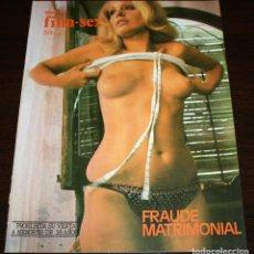 Cine: NUEVO FILM SEX S/N - FRAUDE MATRIMONIAL - 1977. Lote 86334072