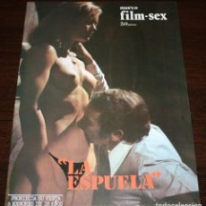 Cine: NUEVO FILM SEX S/N - LA ESPUELA - 1977. Lote 86334164