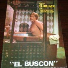 Cine: NUEVO FILM SEX Nº 22 - EL BUSCÓN - 1977. Lote 86334252