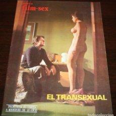 Cine: NUEVO FILM SEX Nº 26 - EL TRANSEXUAL - 1977. Lote 86335624